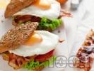 Рецепта Сандвичи с бекон и яйце